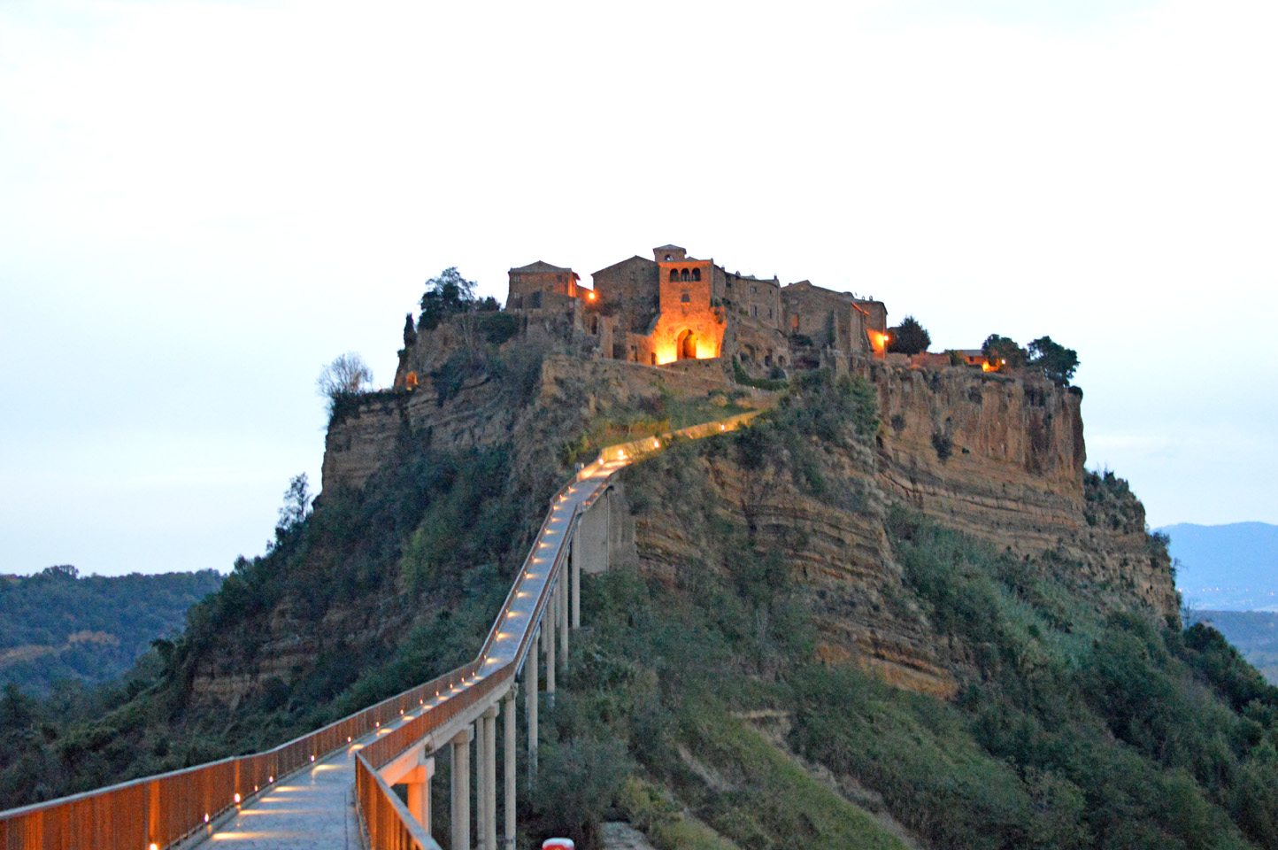 "120 #WhereToGo: Civita di Bagnoregio (""The dying city"")"