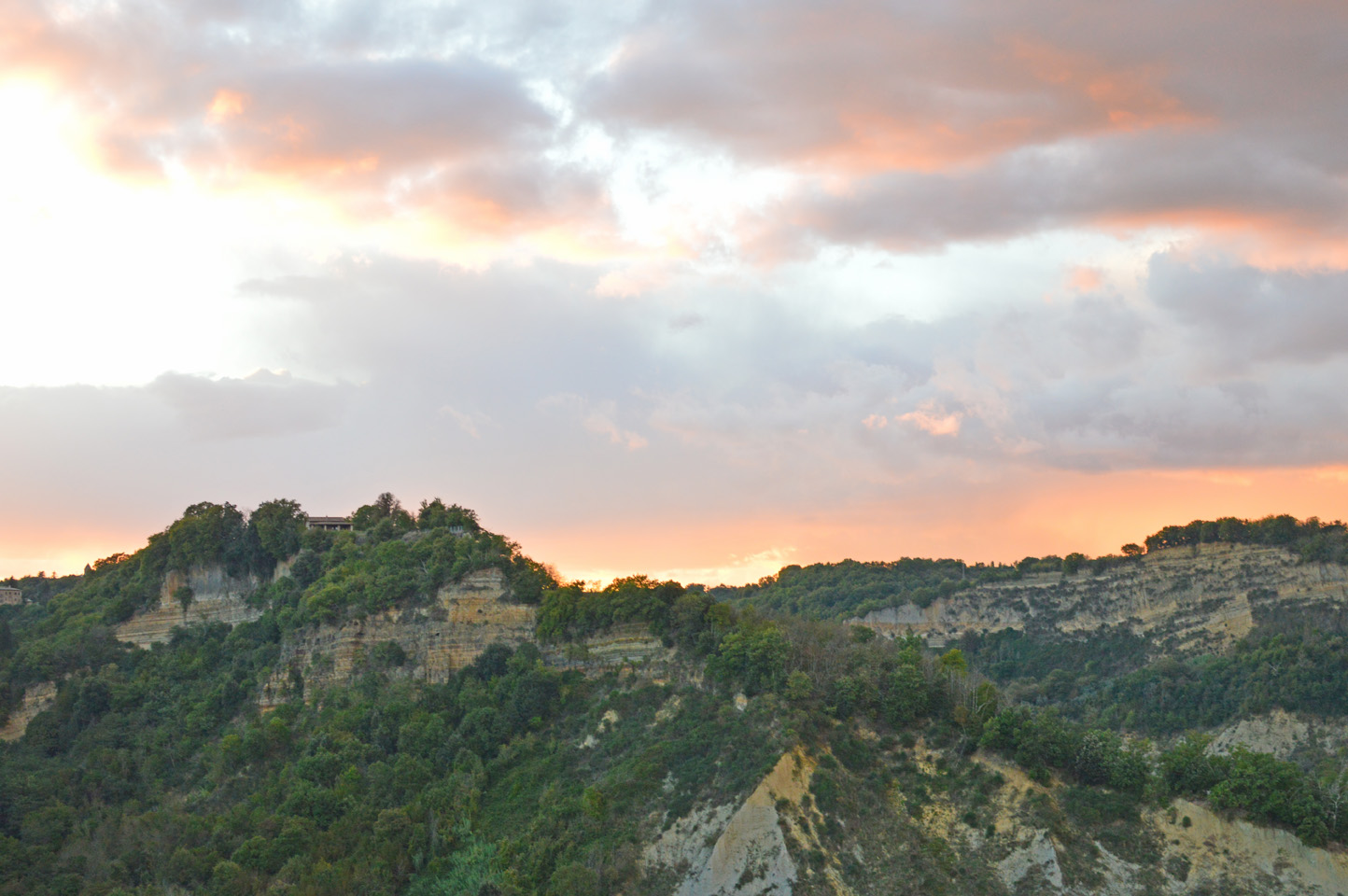 "144 #WhereToGo: Civita di Bagnoregio (""The dying city"")"