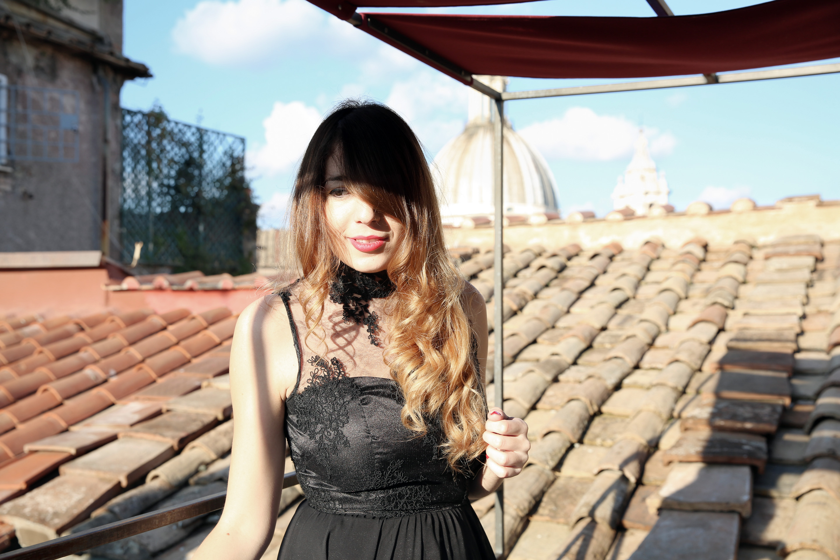 23-2 DayDream in Rome with Giovanna Nicolai dress & Danilo Di Lea shoes.