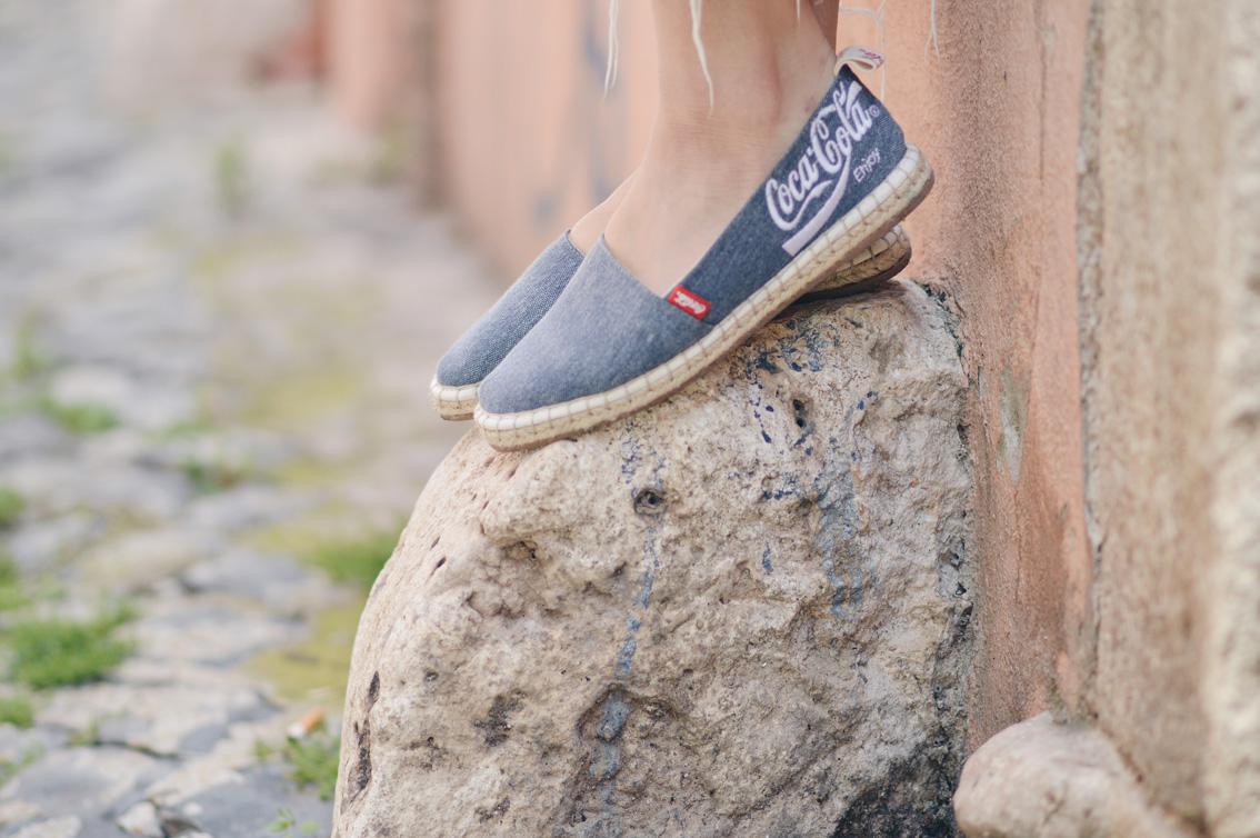 6-2 Espadrillas life with Coca Cola Shoes.