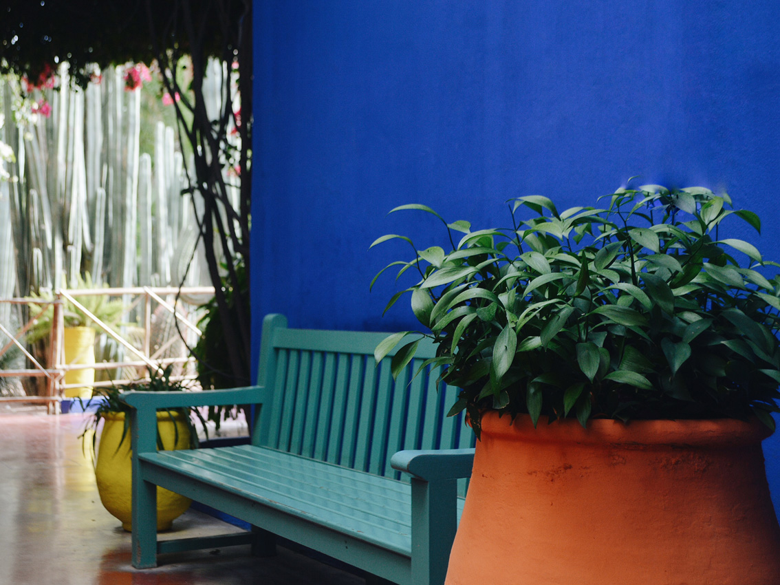 1 Jardin Majorelle - a magical place in Marrakech.