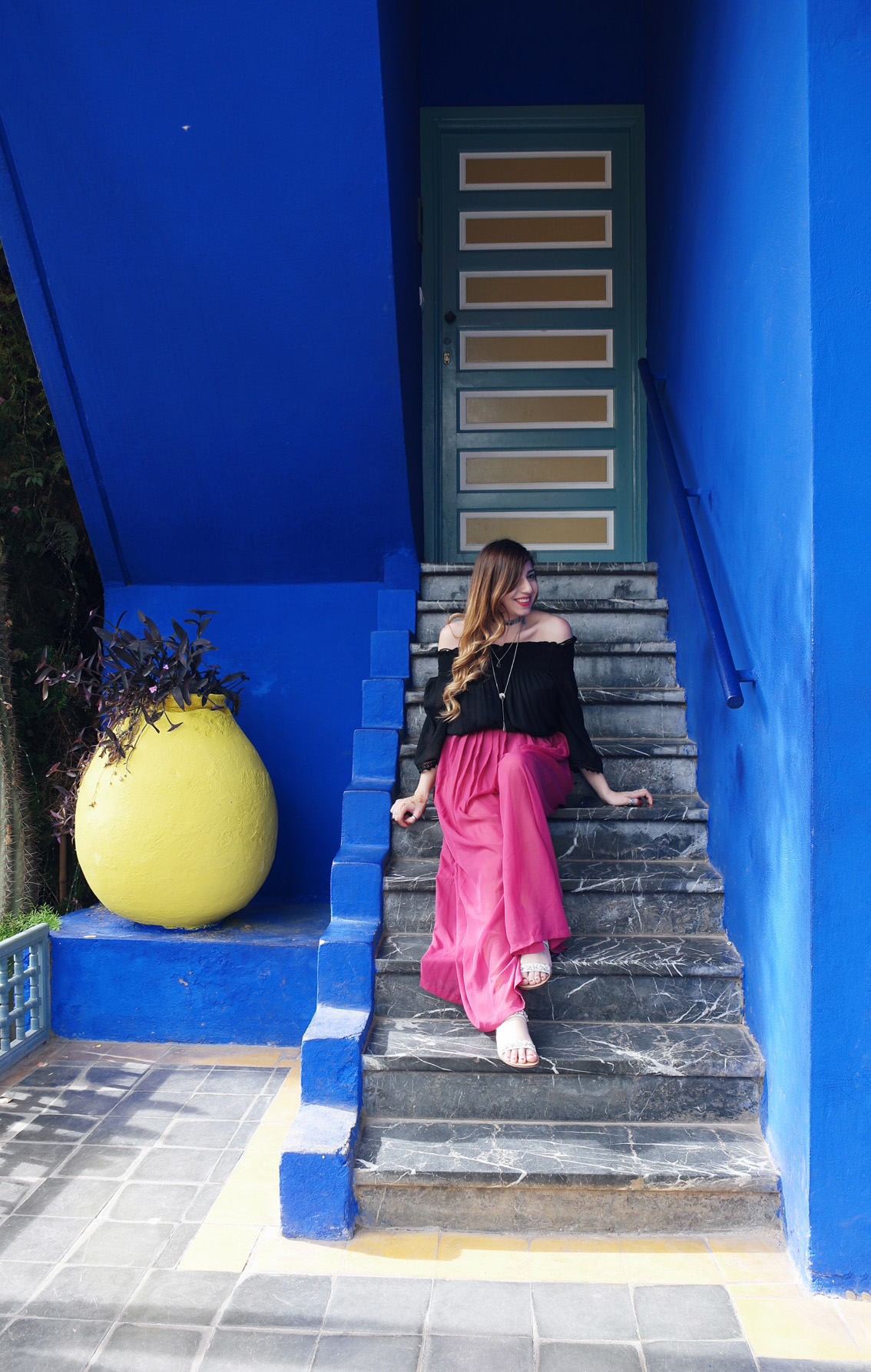 11 Jardin Majorelle - a magical place in Marrakech.