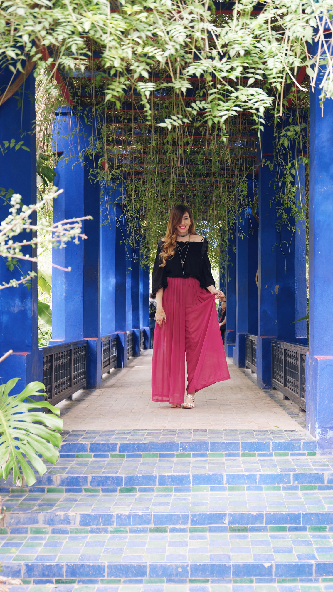 12 Jardin Majorelle - a magical place in Marrakech.