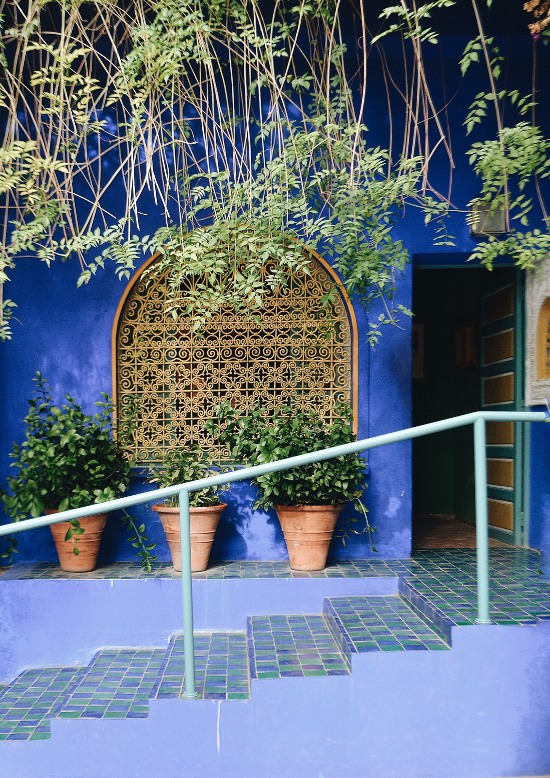 8 Jardin Majorelle - a magical place in Marrakech.