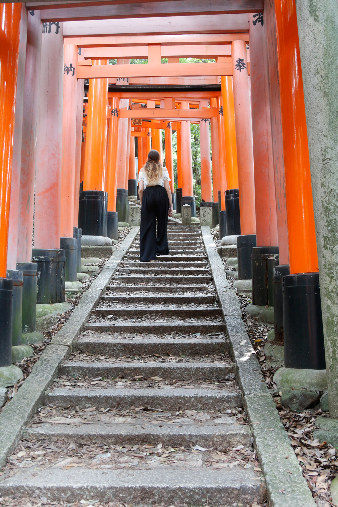3 #Giappotour with Blueberry Travel day 2: Fushimi Inari & Nara.