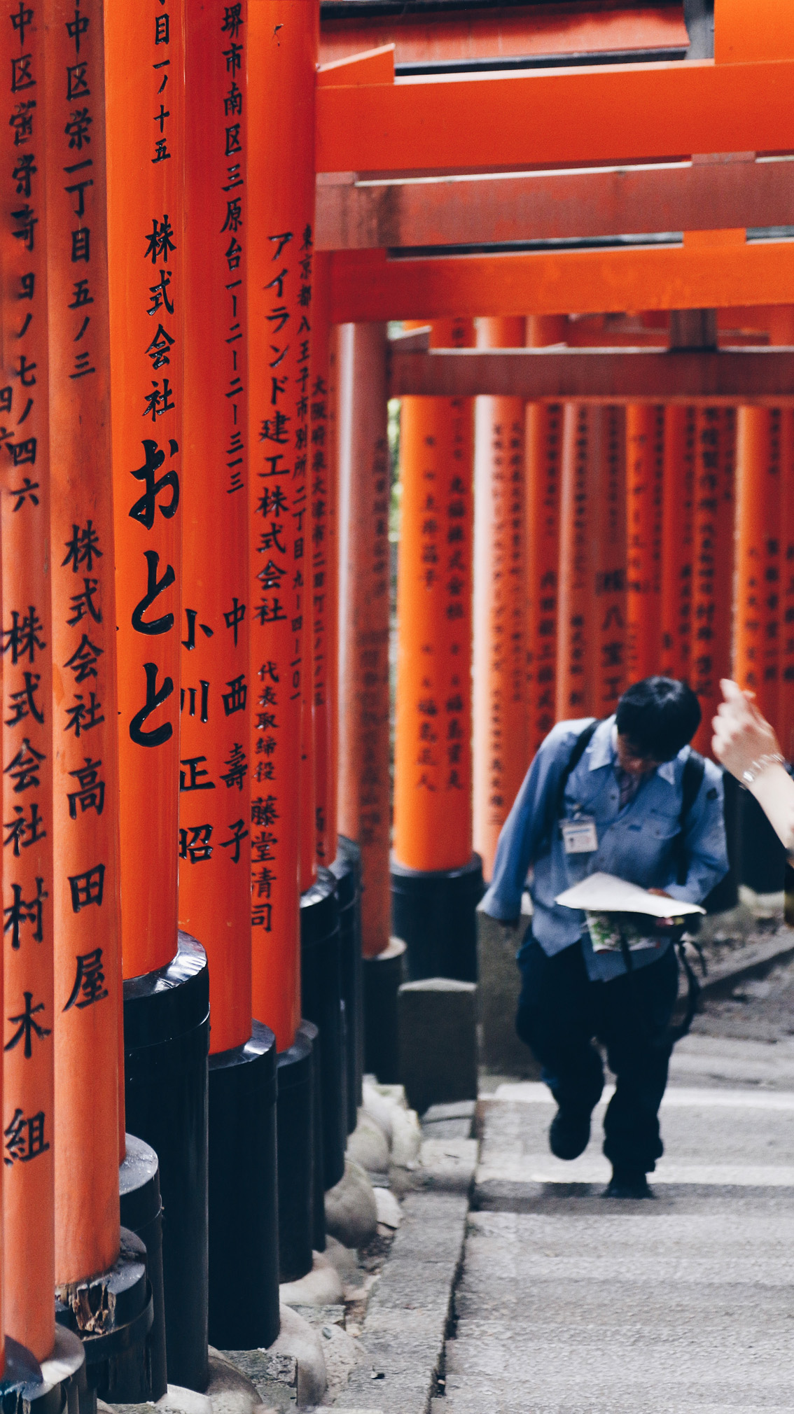 32 #Giappotour with Blueberry Travel day 2: Fushimi Inari & Nara.