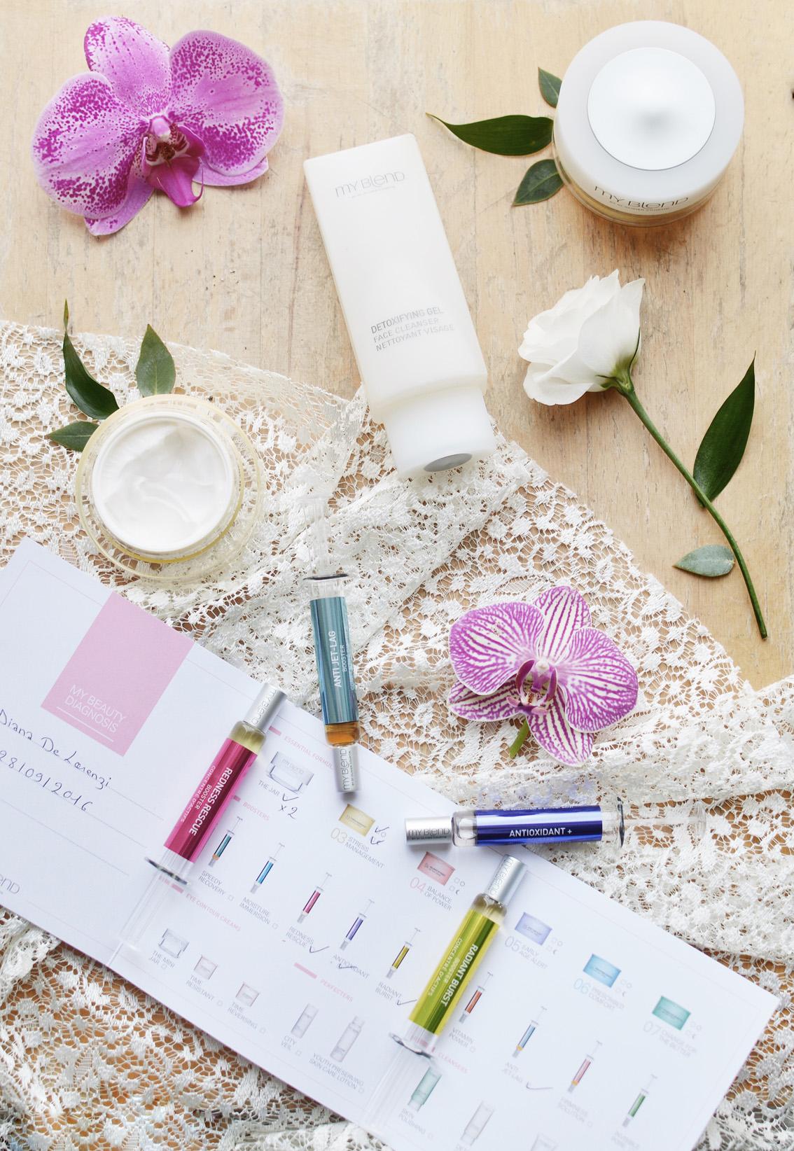 7-4 My Blend- una miscela su misura per la Beauty Routine quotidiana.