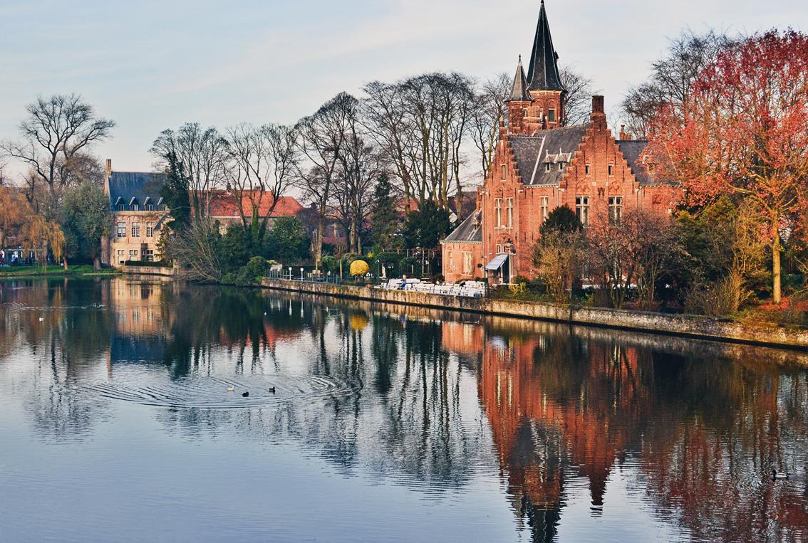 40-1 Un weekend in Belgio. Alla scoperta delle Fiandre: Bruges .