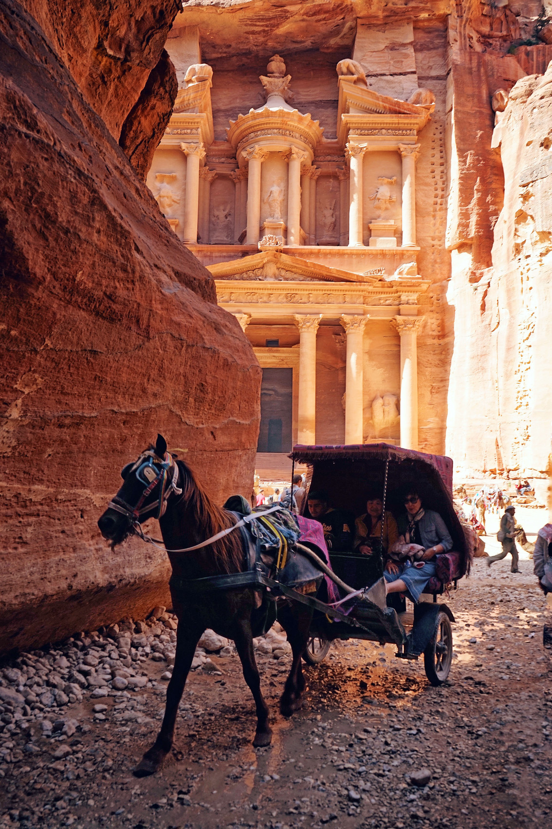 16-2 The Treasury of Petra and the lowest place on Earth. Jordan, second chapter.