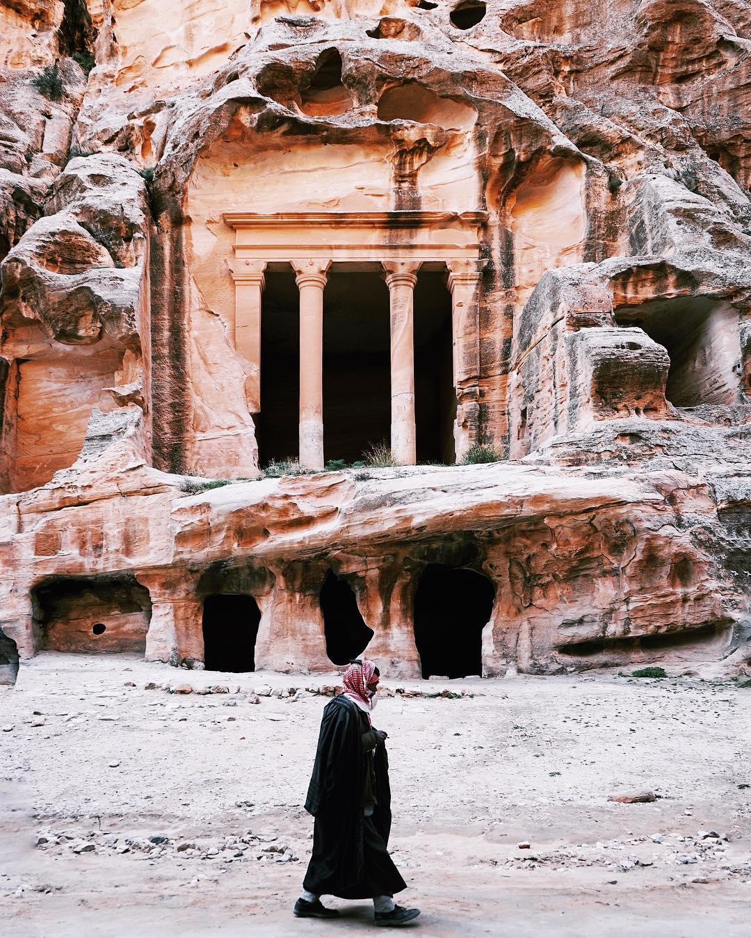 50 The Treasury of Petra and the lowest place on Earth. Jordan, second chapter.