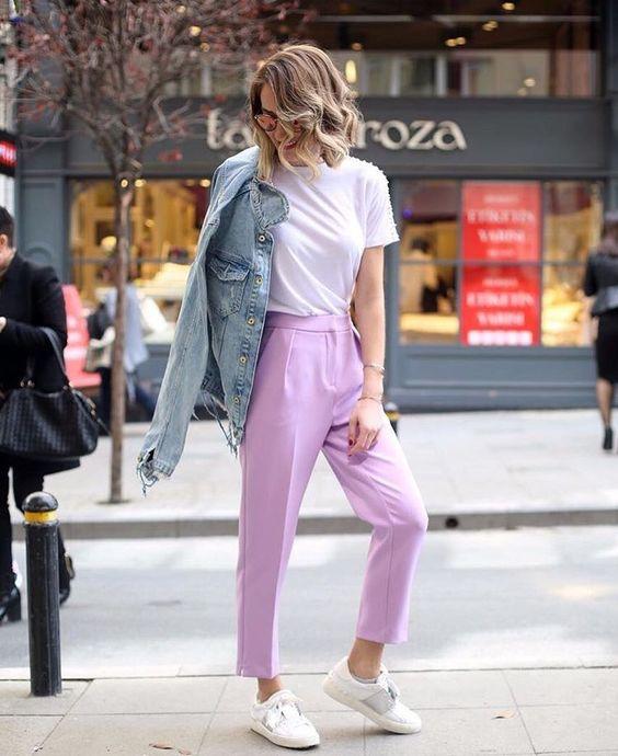 outfit-lilla Trend primavera/estate 2020: 10 idee regalo per la Festa della Donna su PAYBACK.